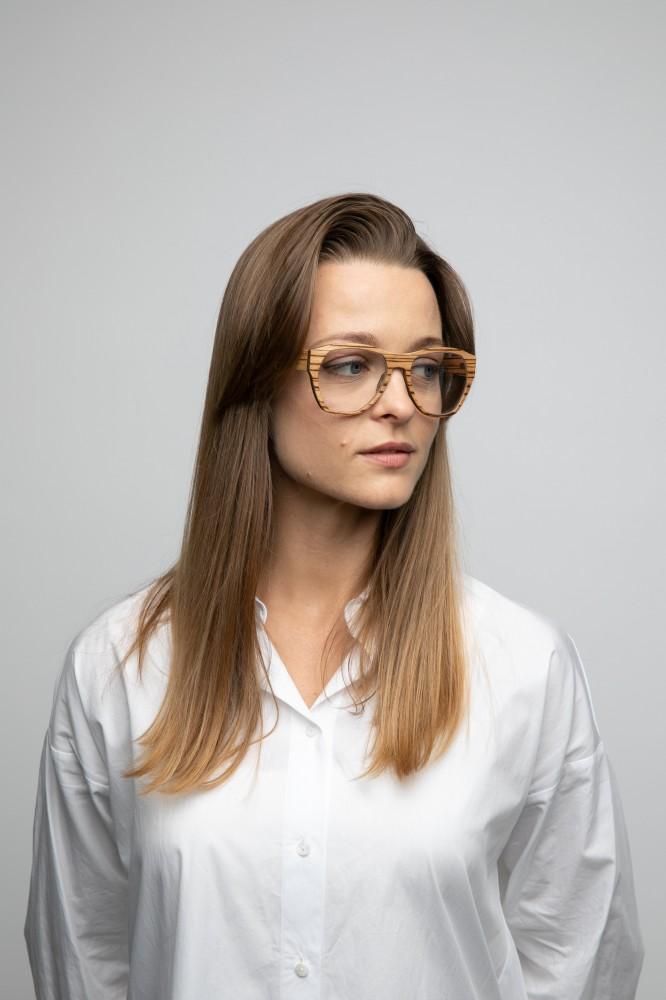 URIEL RX wooden unisex sunglasses Prescription Glasses