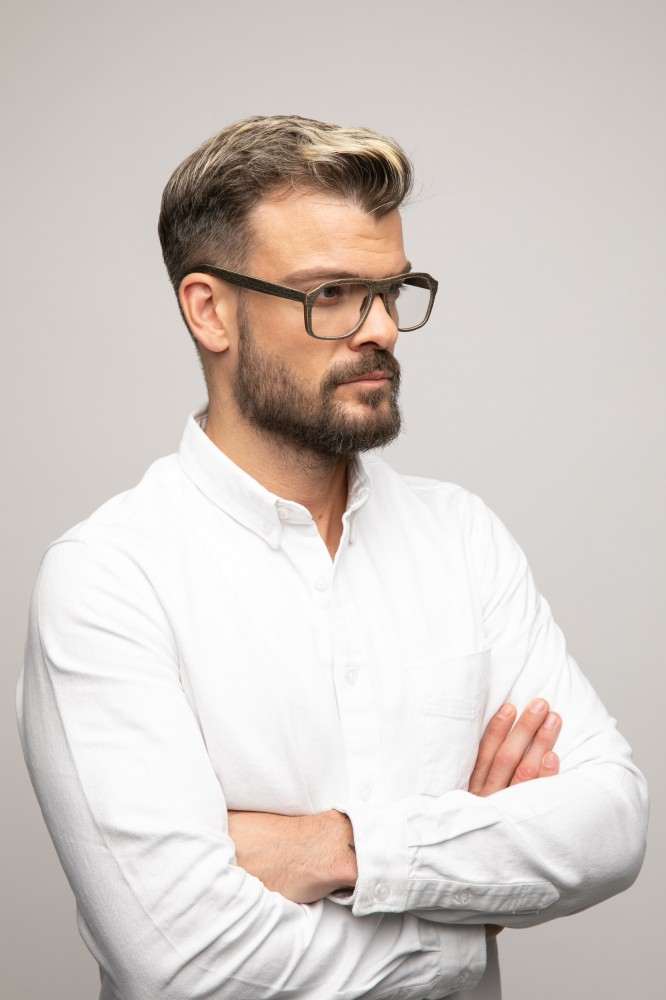 RAPHAEL wooden unisex sunglasses Prescription Glasses