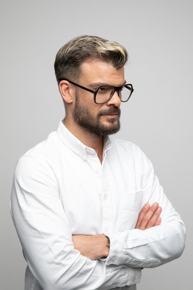 MICHAEL wooden unisex eyeglasses Prescription Glasses