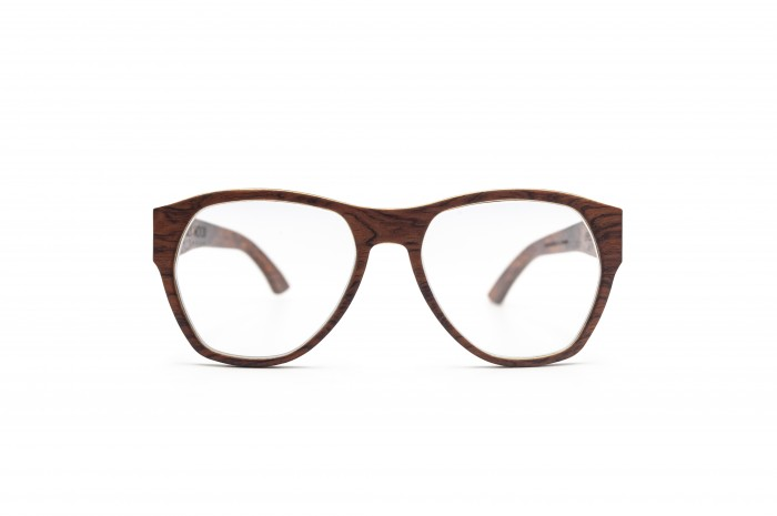 URIEL RX Wooden Sunglasses