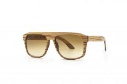 IAPETUS ZEBRANO MEN sunglasses Wooden Sunglasses
