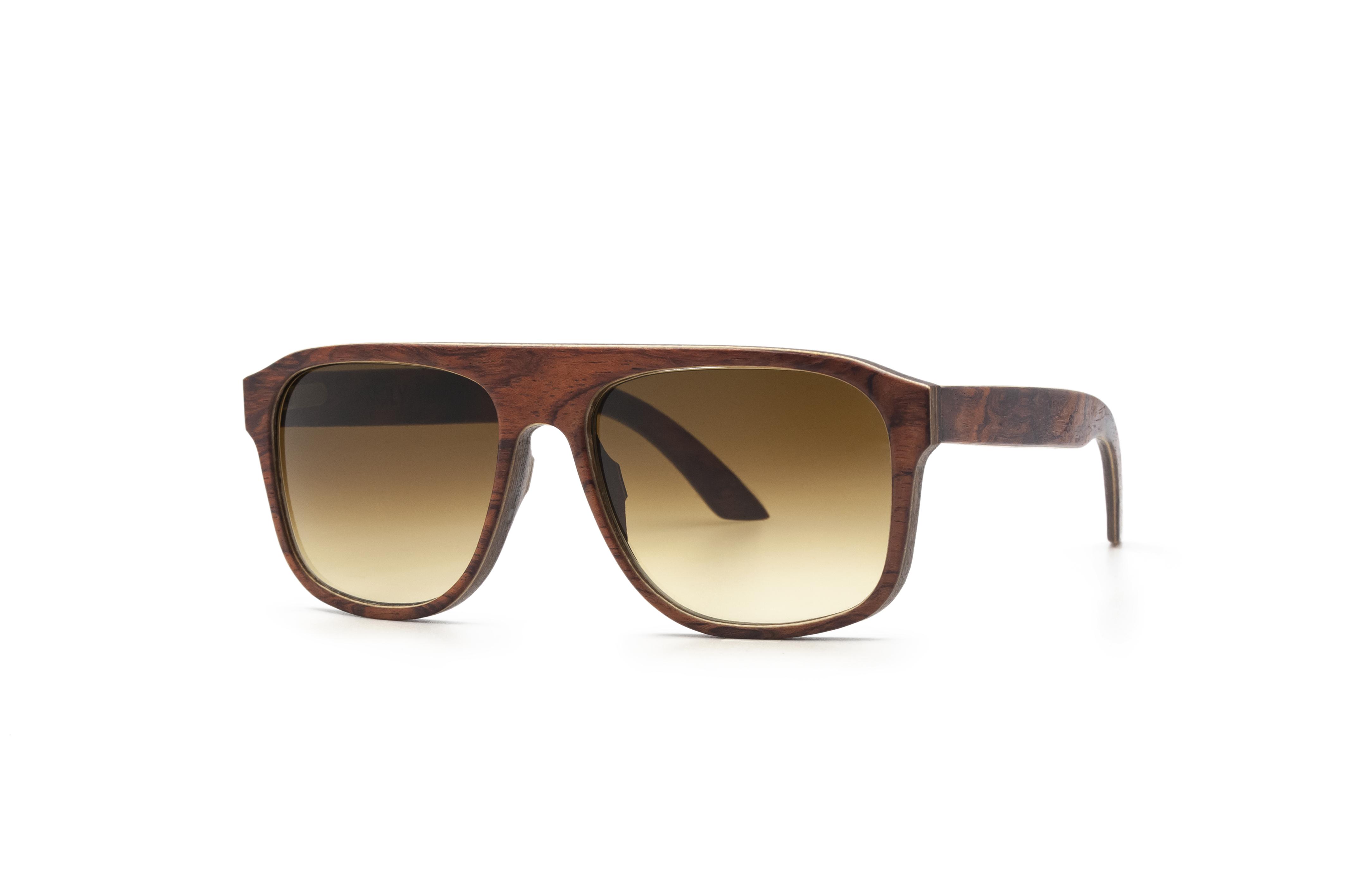 IAPETUS Bubinga Sunglasses Wooden Sunglasses