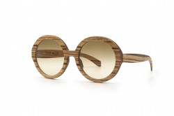 Holy O sunglasses Zebrano Wooden Sunglasses