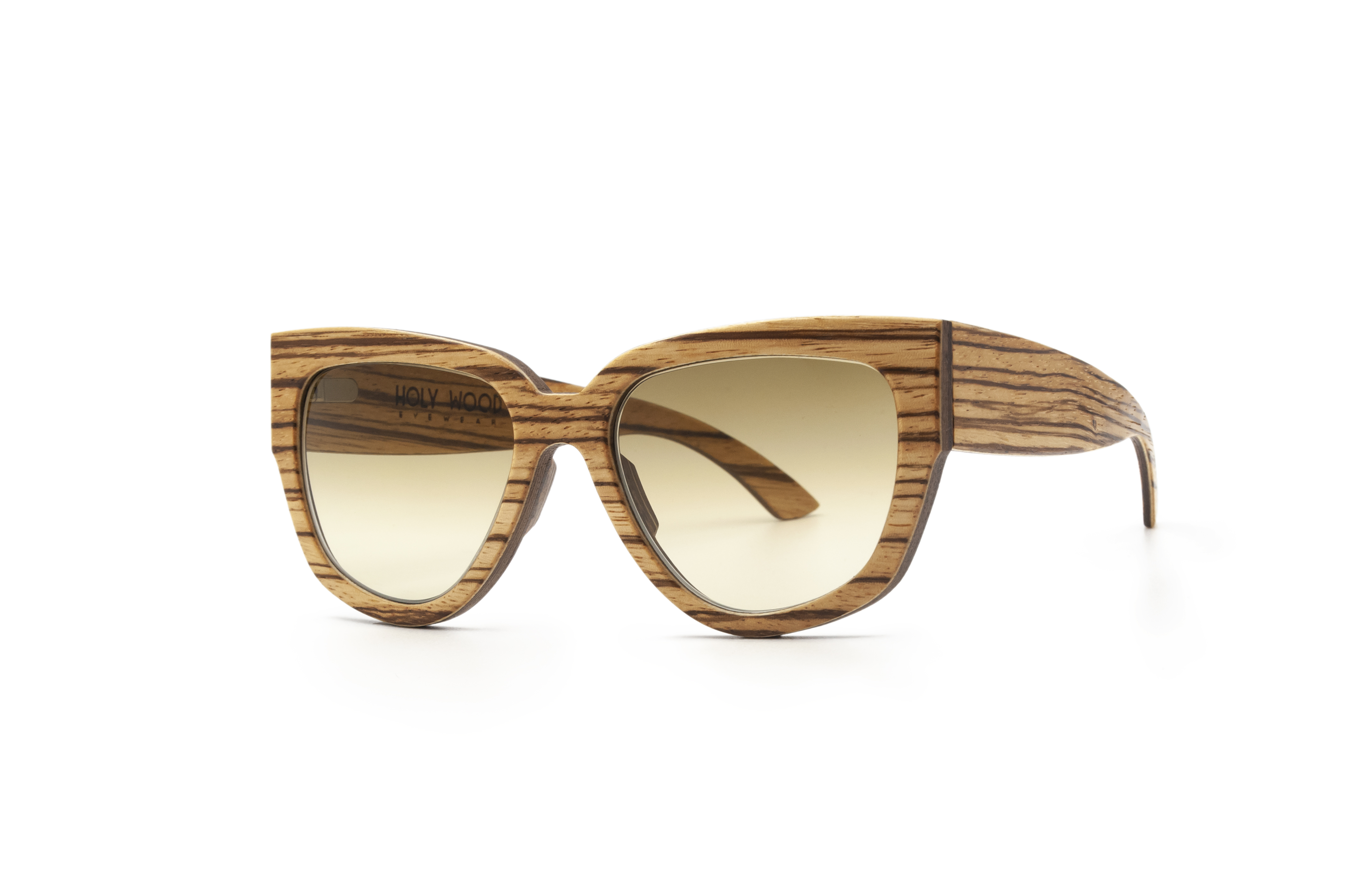 Holy Kitty uniques wooden sunglasses  ZEBRANO Wooden Sunglasses