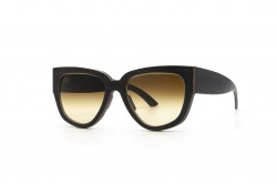 Holy Kitty Cat Eye Sunglasses Wooden Sunglasses