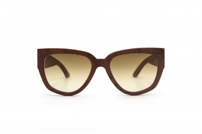 HOLY KITTY Wooden Sunglasses