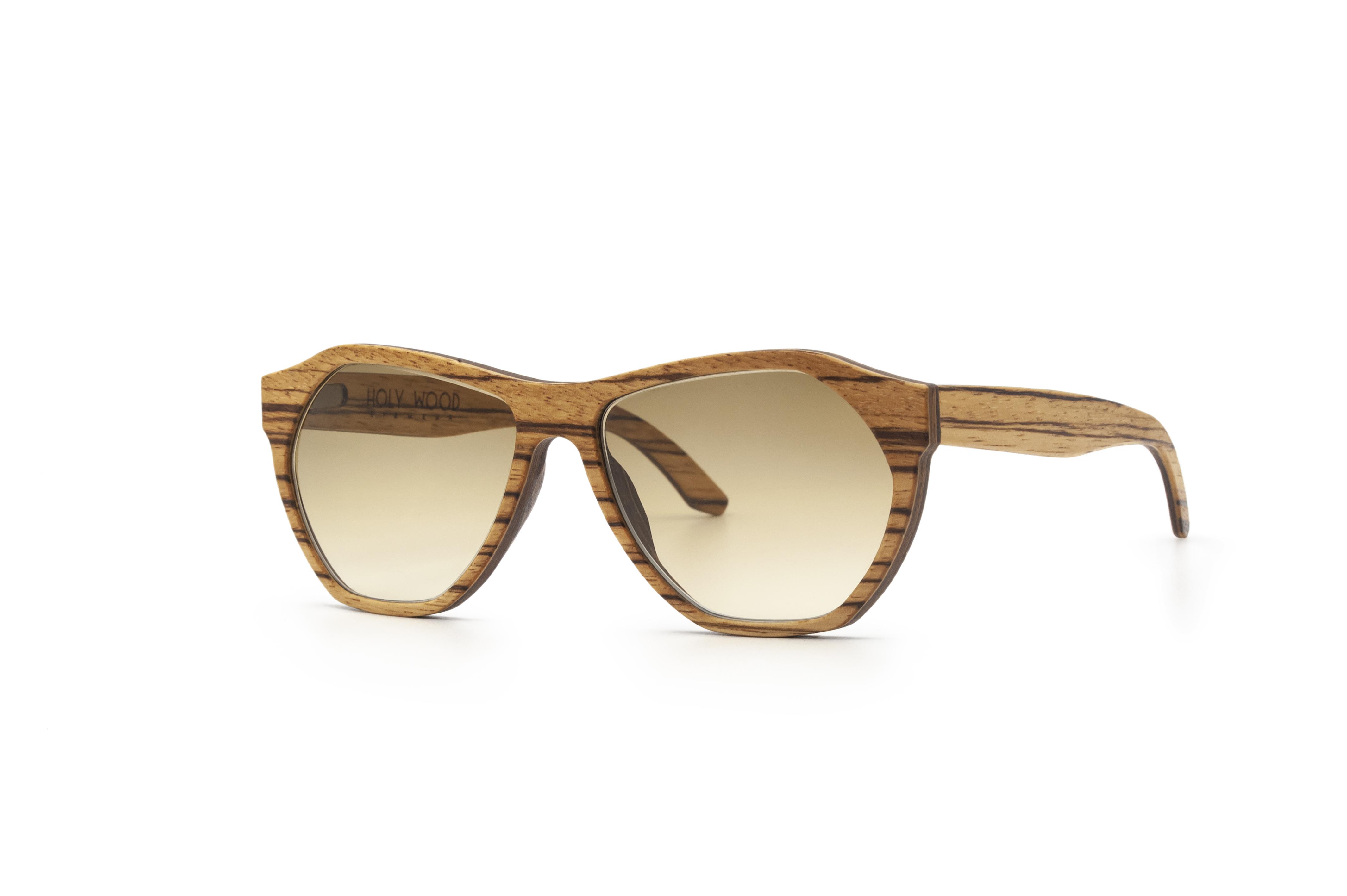 Gabriel Sun ZEBRANO Unisex Sunglasses Wooden Sunglasses