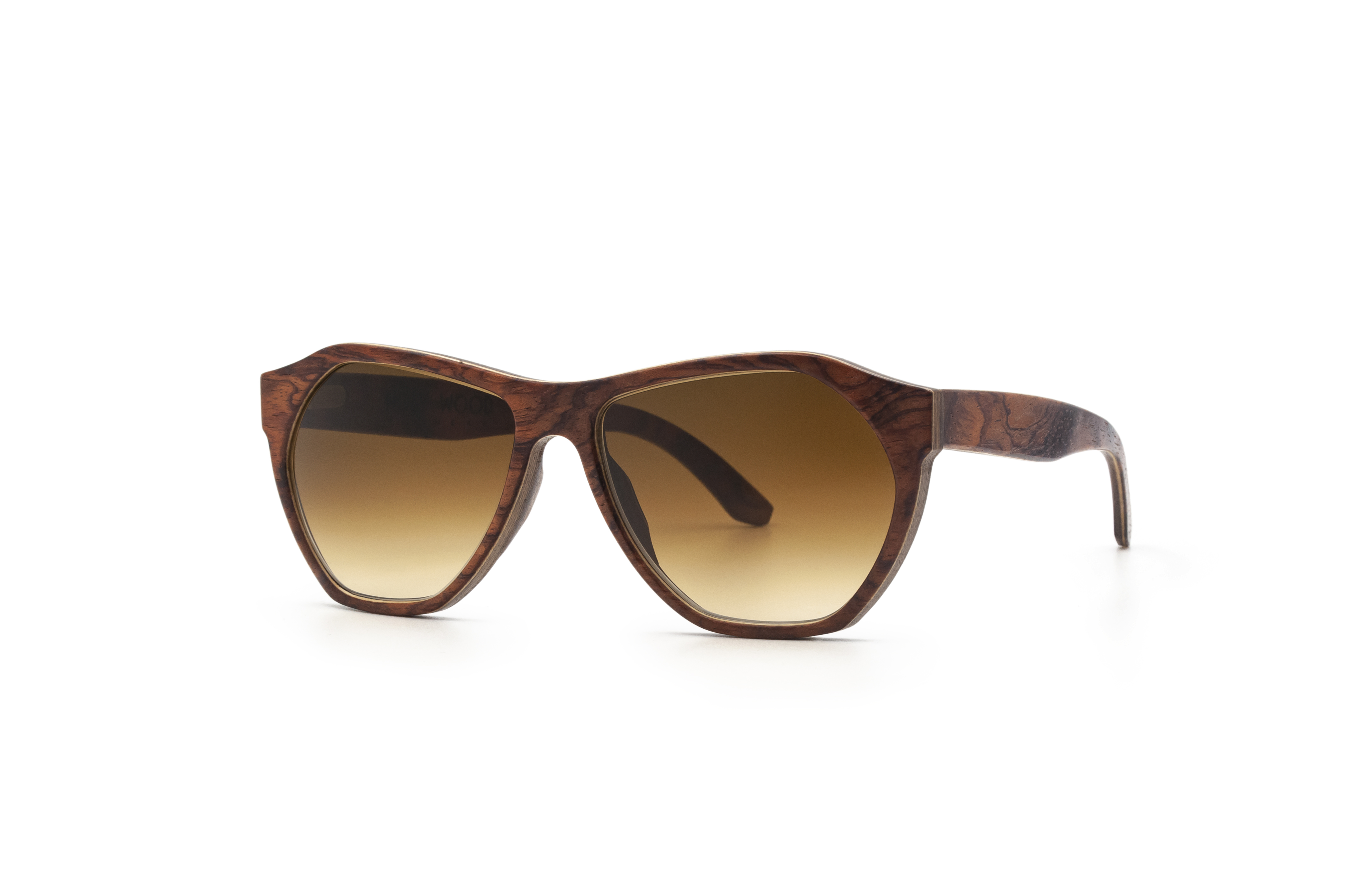 Gabriel Sun Bubinga Unisex Sunglasses Wooden Sunglasses